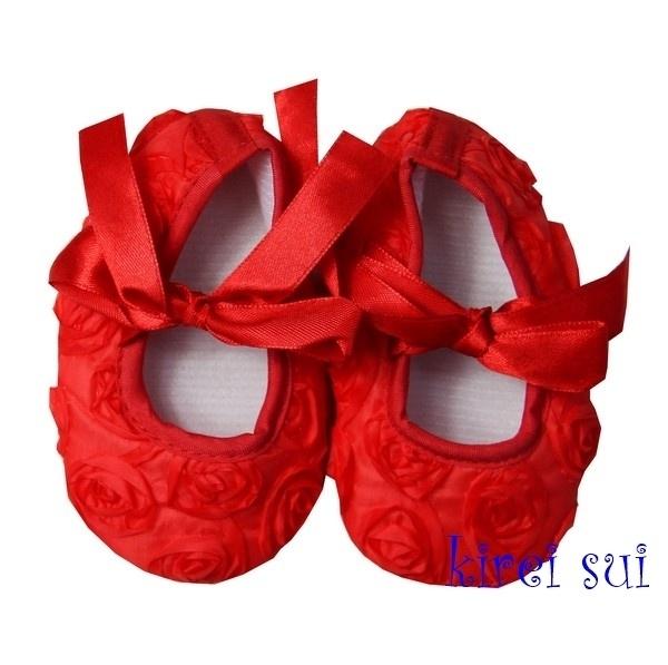 Roosjes ballet rood