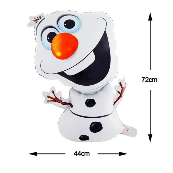 Olaf Folie Ballon - Frozen XXL