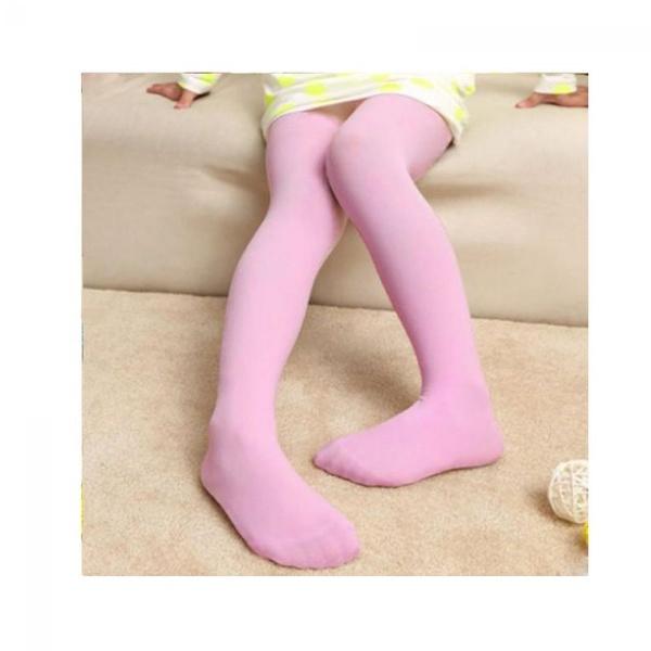 Panty voor kinderen, ROZE, maat 5-9 jaar