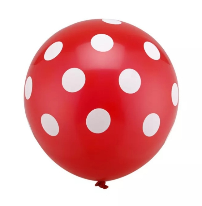 Minnie Mouse Ballon ROOD - 5 stuks