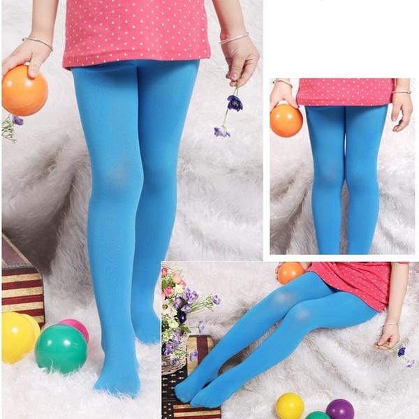 Panty voor kinderen, BLAUW, maat 5-9 jaar