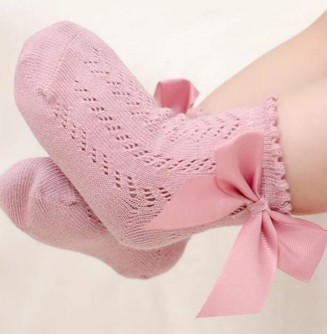 Sokken roze (0-1 jaar)