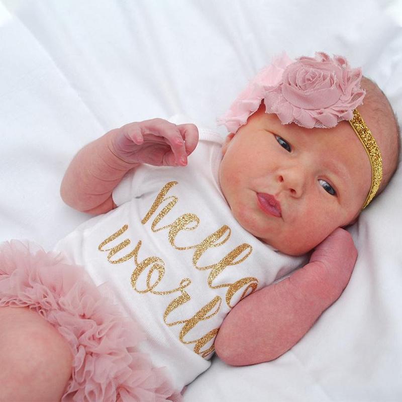 Newborn set, Hello World