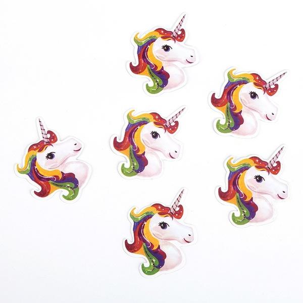 Unicorn cocktailprikkers - 12 stuks