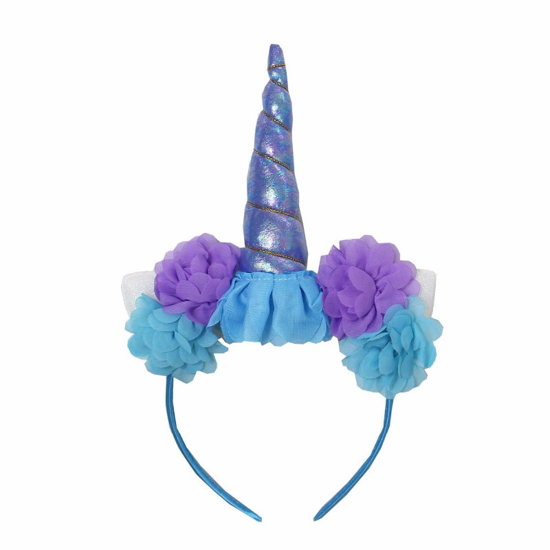Unicorn diadeem Blauw