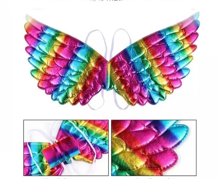 Unicorn vleugels pastel