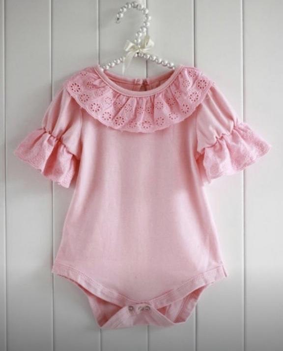 Fotoshoot babypakje roze 0-6 mnd