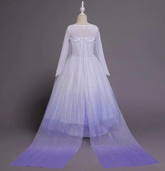Prinsessenjurk Frozen, elsa met accessoires