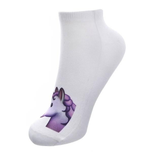 Unicorn sokken LAVENDEL, 2-7 jaar/one size