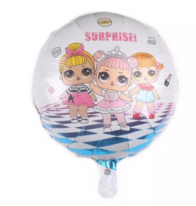 L.O.L ronde folieballon