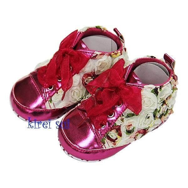 Roosjes mix halfhoge schoen