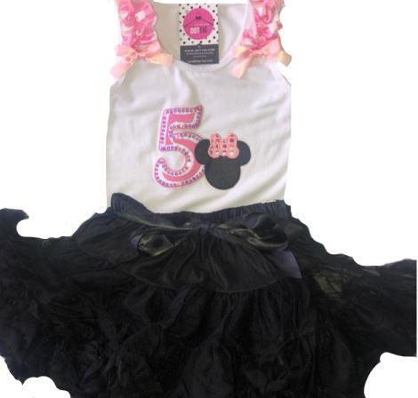 Minnie Mouse verjaardagset 5 jaar