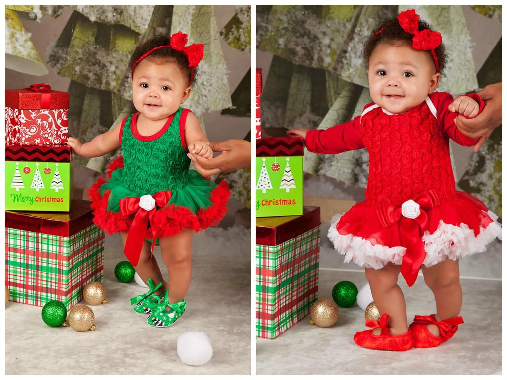Baby en peuter kerstjurken
