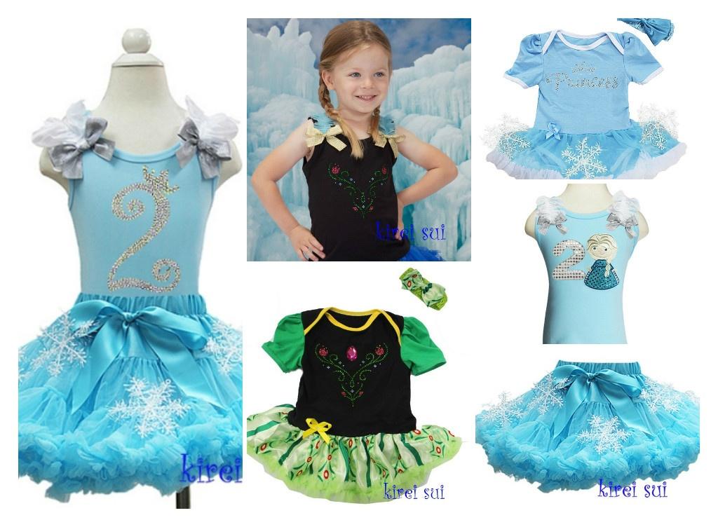 Prinses Elsa en Anna kleding Frozen