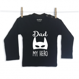 Dad my hero shirt  Snoes Lifestyle