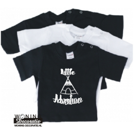 Little Adventurer Baby Shirt korte mouw