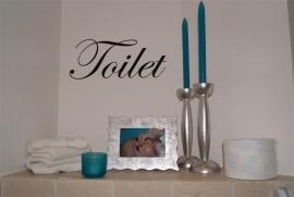 Toilet op maat en deursticker