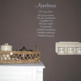 Oktober Appeltaart recept