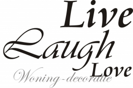Live Laugh Love 3 lettertypes