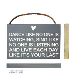 S113 Dance like