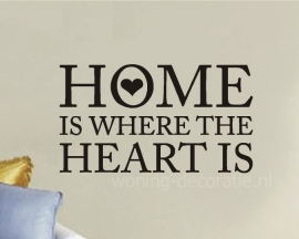 Home is where the heart is hartje