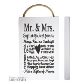 S116 Mr.& Mrs
