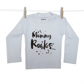 Mommy Rocks Shirt Snoes Lifestyle