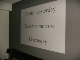 Cherish Yesterday Modern Look