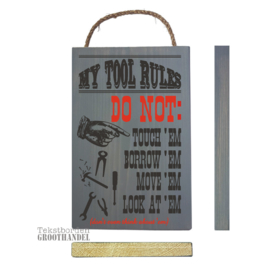 S624 My Tool Rules