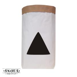 Paper bag XXL Driehoek