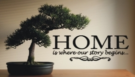 Home is where our story..