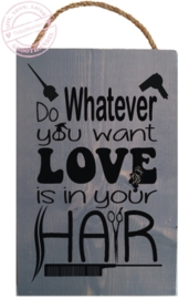 S636 Love is in your hair