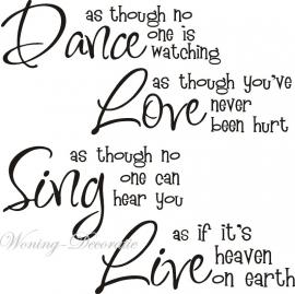 Dance like nieuw