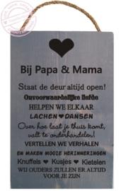 S165 Bij papa en mama
