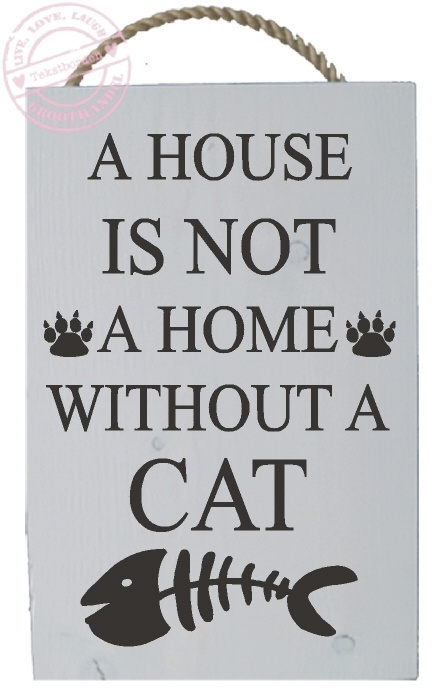 S529 A house is not a home without a cat