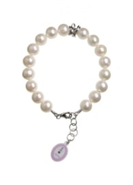 Perlas Blanco major armband