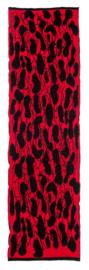 Sjaal Tiles rood / zwart