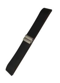 Rosendahl horlogeband zwart  22 mm