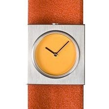 Easy Going Watch dst 005, oranje- en groene horlogeband
