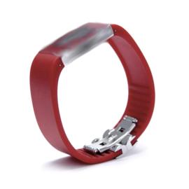 Rosendahl horlogeband ROOD smal 20 mm inclusief sluiting