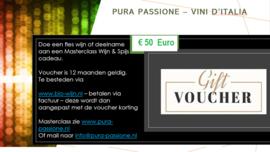 Voucher Masterclass of Wijn € 50