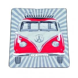 VW Picknickkleed rood