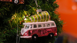 Kerstbal VW T1 kerstboom