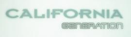 Sticker California Generation, achterklep