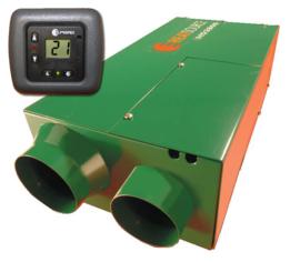 Propex Heatsource Heater Gaskachel HS 2800D Digitale thermostaat