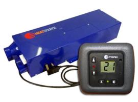 Propex Gas en 230v kachel HS 2000ED met Digitale thermostaat