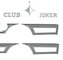 Sticker set T3 Joker en Club Joker