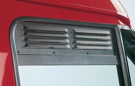 Airscreen / Ventilatieroosters set voorportierramen L/R nugget Custom