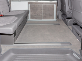 Mat VW T6.1 - 2 Rails Velours Palladium