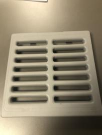 Ventilatierooster koelkast vanaf 1999 (3e generatie)